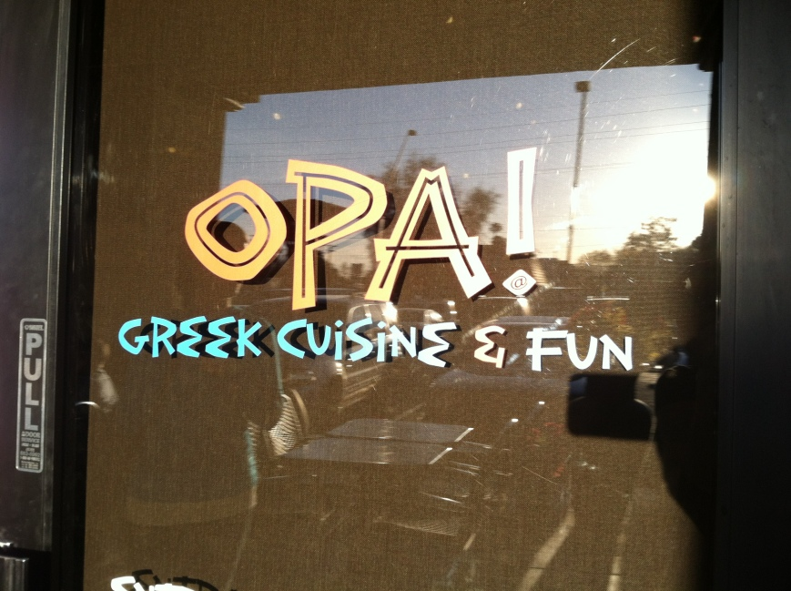 Opa! Greek Cuisine and Fun | Gypsy Queen