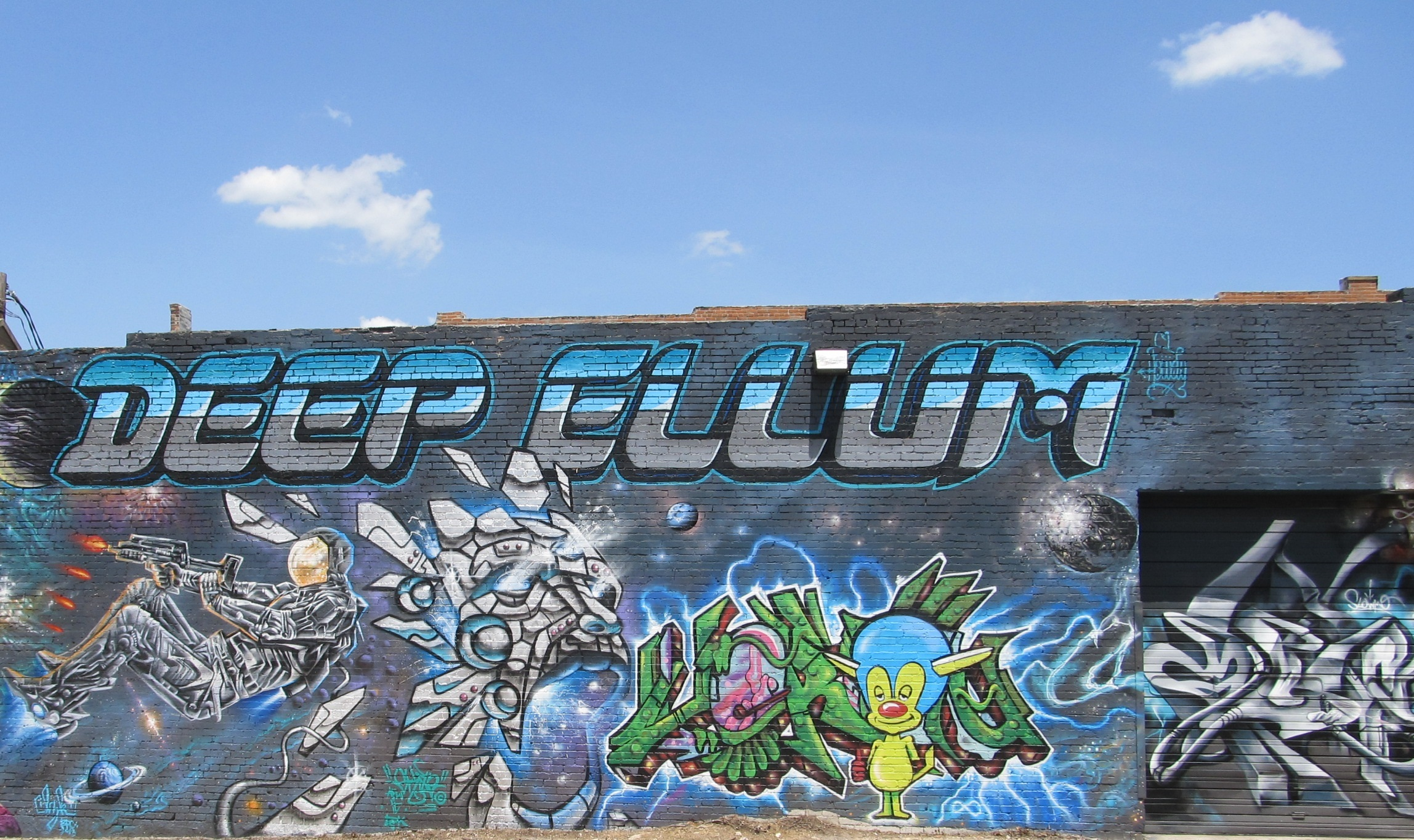 Graffiti wall dallas - Since You Re In Deep Ellum Do Yourself A Favor And Check Out The Neighborhood It S One Of The Few Neighborhoods Where Graffiti Is Encouraged So There S A