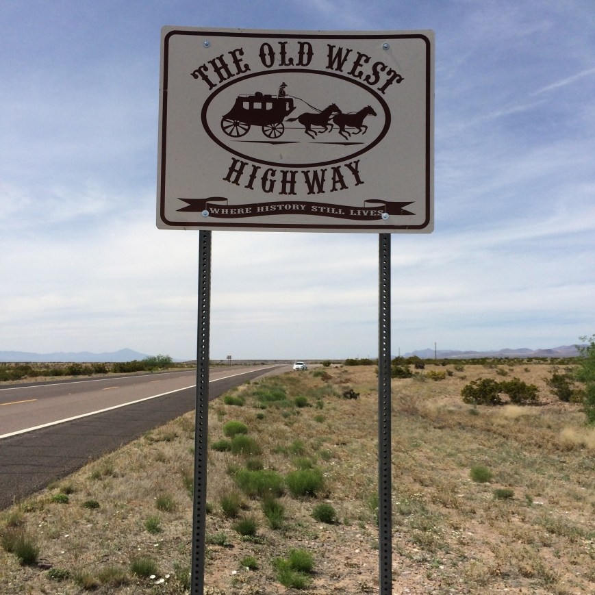 The old west highway