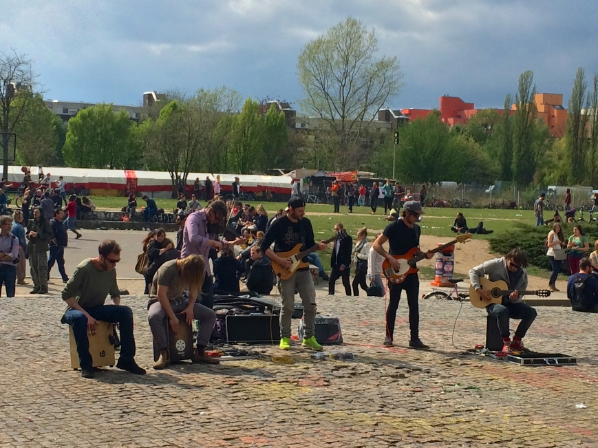 The Trouble Notes in Mauerpark