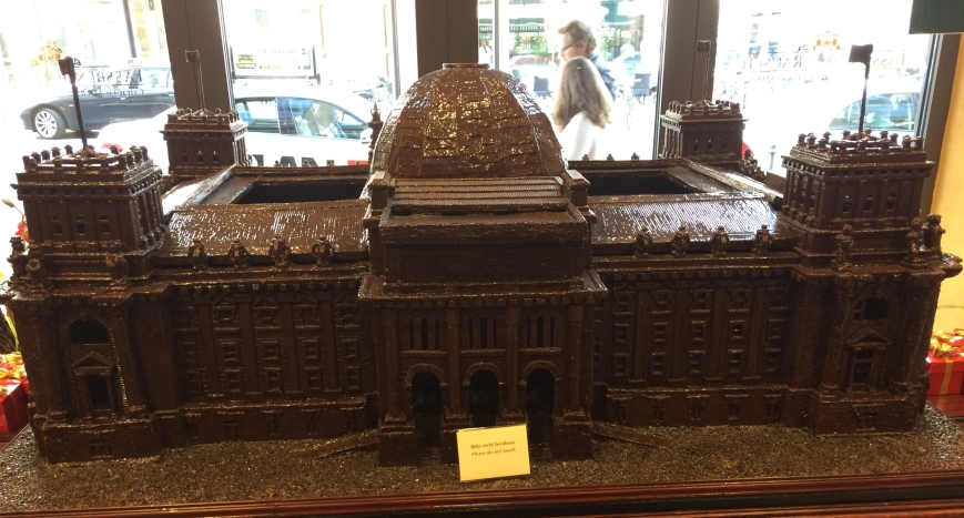 Reichstag Building in Chocolate