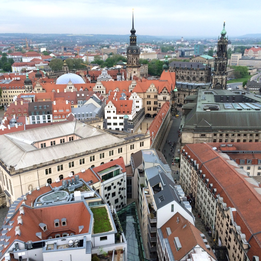 Views across Dresden