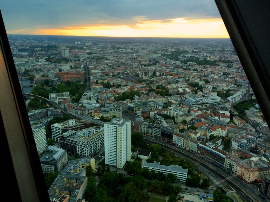 View from Berlin's TV Tower