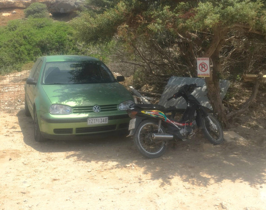 Greek parking